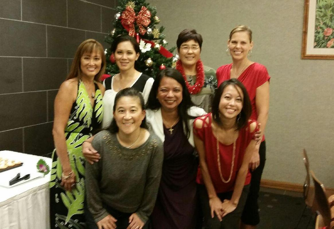 aiea pearl city dental care photo of hygienists top row left to right sherri sandie karen kirsten bottom row left to right kim teo tracy