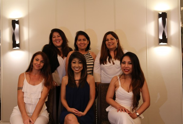 Photo of Aiea Pearl City Dental Care Front office team members top row left to right Venice Rechie Doreen Bottom row left to right Dee Laurie Vilma;